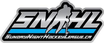 Sunday Night Hockey League • Bolton, Ontario